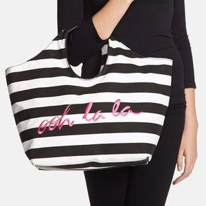 Kate Spade Ooh La La Striped Tote Bag